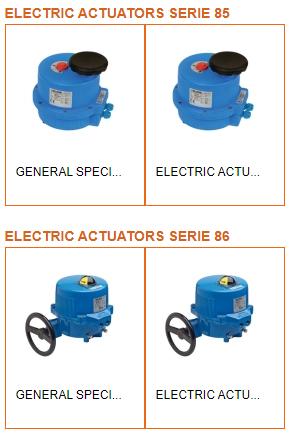 Electric actuator - Valbia